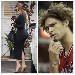 Robin Lopez Responds To Rumors of Dating Khloe Kardashian